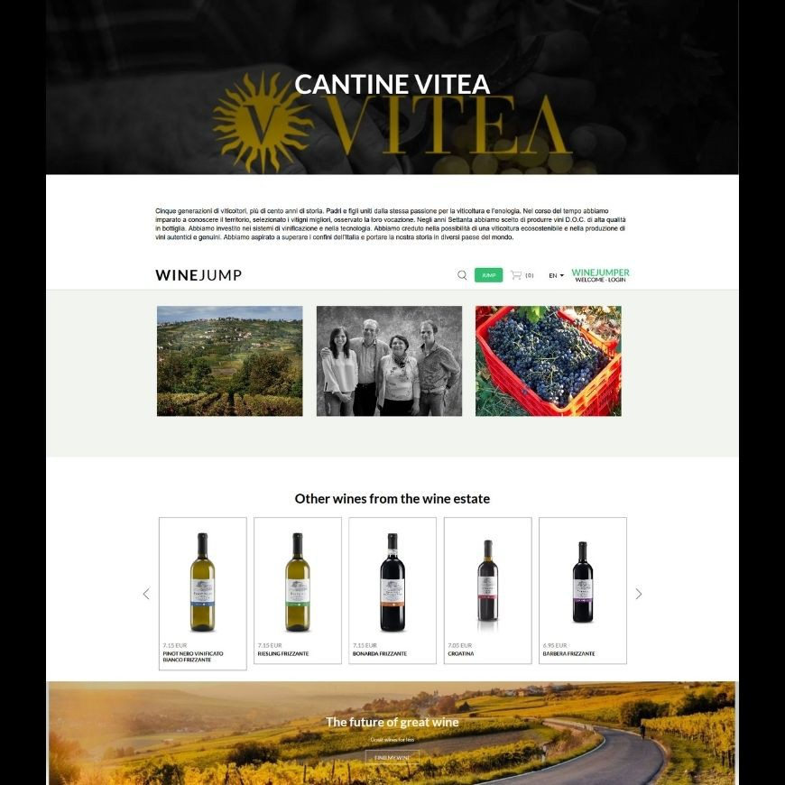 WHEREVER YOU ARE BUY VITEA WINES